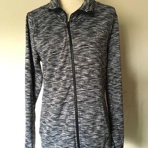 Champion women's Black L Athletics zipper jacket